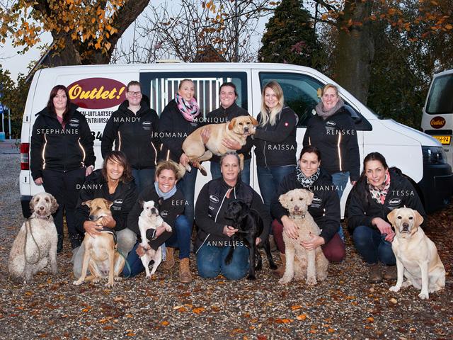 Het team van Outlet